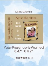 Save the Dates - Your-Presence-Is-Wanted