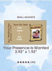 Save the Dates - Your-Presence-Is-Wanted, Too