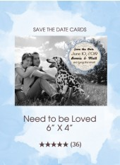 Save the Dates - Isn't It Loverly