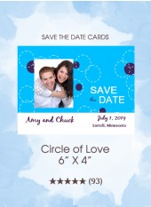 Save the Dates - Circle of Love