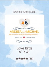 Save the Dates - Lovebirds