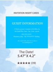 The Date! - Insert Cards