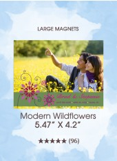 Save the Dates - Modern Wildflowers