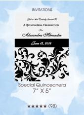 Special Quinceanera - Invitations