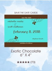 Save the Dates - Exotic Chocolate