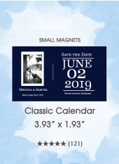 Save the Dates - Classic Calendar, Too