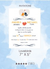 Invitations - Lovebirds