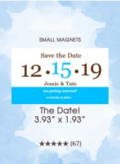 Save the Dates - The Date! Too