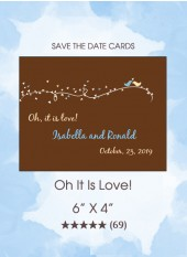 Save the Dates - Oh It Is Love!