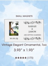 Save the Dates - Vintage Elegant Ornamental, Too