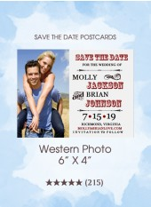 Save the Dates - Western Photo