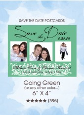 Save the Dates - Going Green