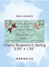 Save the Dates - Cherry Blossoms in Spring, Too