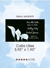 Save the Dates - Calla Lilies, Too