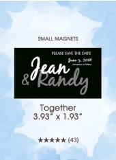 Save the Dates - Together, Too