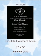 Invitation - Double Hearts of Love