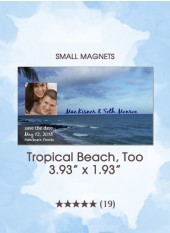 Save the Dates - Tropical Beach, Too