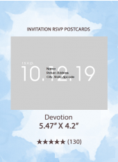 Devotion - RSVP Postcards