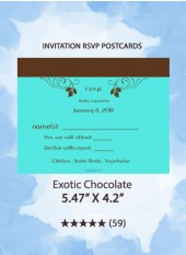 Exotic Chocolate - RSVP Postcards