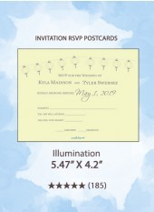 Illumination - RSVP Postcards