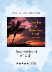 Save the Dates - BeachIsland