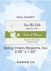 Save the Dates - Spring Cherry Blossoms, Too