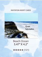 BeachOcean - Insert Cards