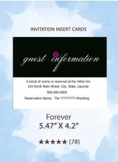 Forever - Insert Cards