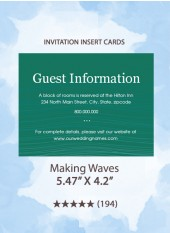 Making Waves - Insert Cards