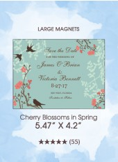 Save the Dates - Cherry Blossoms in Spring