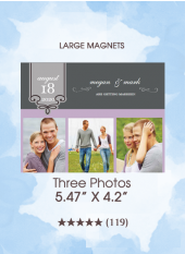Save the Dates - Three Photos