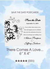 Save the Dates - There Comes A Love...