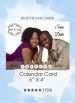 Save the Dates - Calendar Card