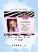 Invitations - Quinceañera Party