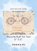 Save the Dates - Bicycle Built For Two