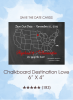 Save the Dates - Chalkboard Destination Love